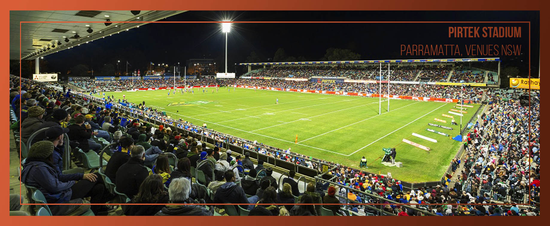 Pirtek Stadium during a game of rugby league
