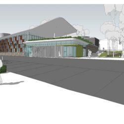 Sanctuary Point Library render from front